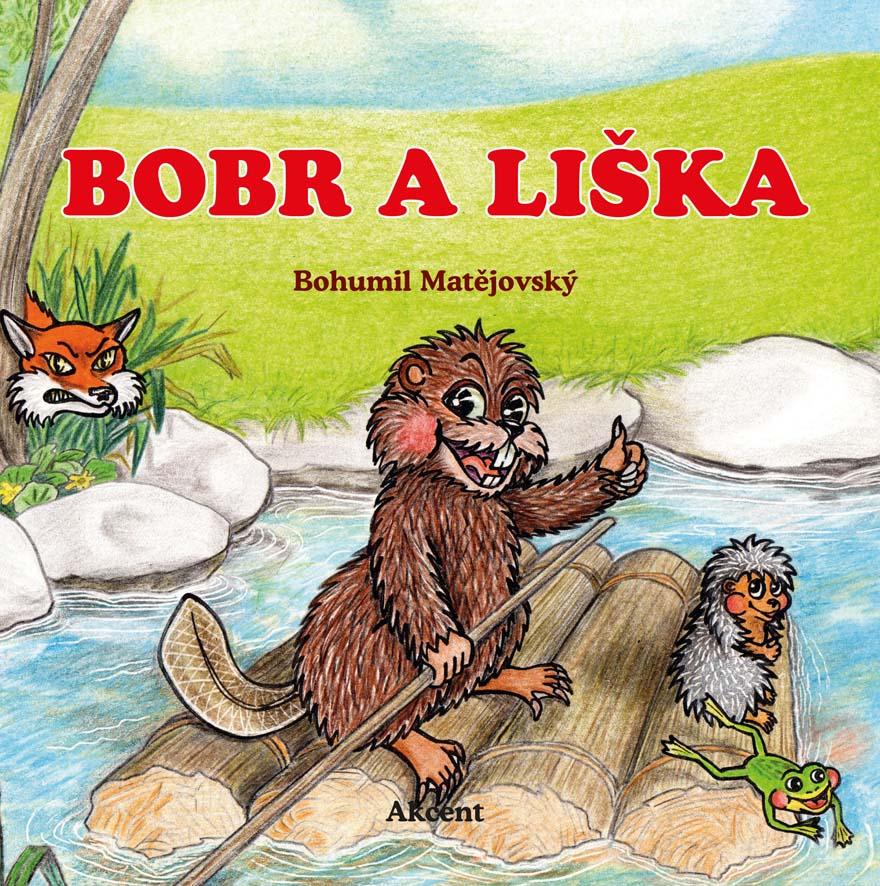 Titulní stránka knihy Bobr a liška